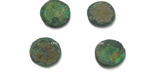 Set of Bronze Coins – 400BC