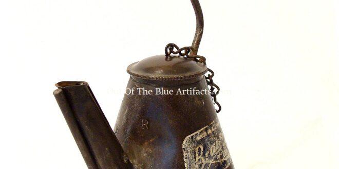 Braimer Oil Lamp, Teapot Style