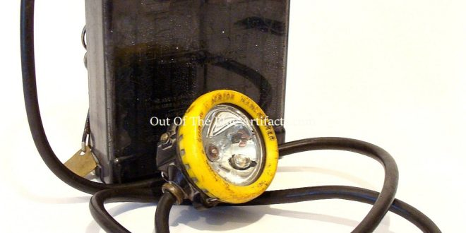 Miners Battery – Cap Lamp