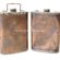 Two Copper Oil Flasks