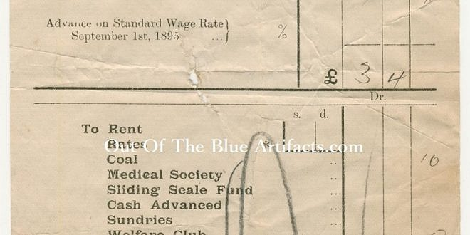 The Ebbw Vale Steel Iron & Coal Co Ltd – Wages Docket