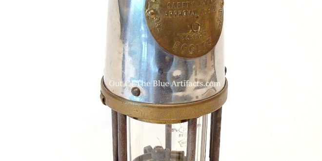 An Eccles Miners Protector Lamp – Relighter
