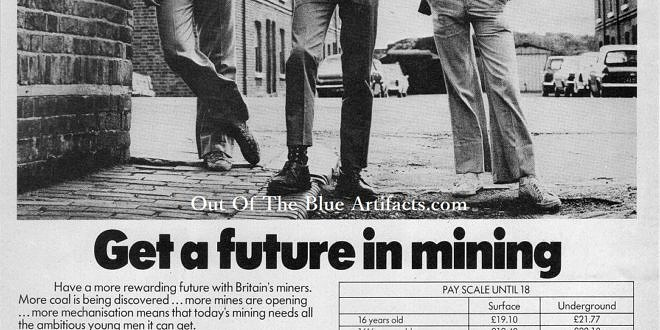 N C B  Newspaper – Job Advert | Out Of The Blue Artifacts
