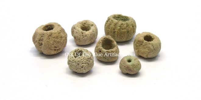Neolithic British Stone Carved Beads