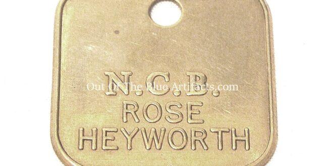 Roseheyworth Colliery N.C.B. Lamp Check
