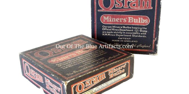 Osram Miners Bulbs Boxes