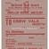 Cwmtillery Colliery to Ebbw Vale – Coal Wagon Ticket