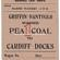 Griffin Colliery Nantyglo – Coal Wagon Ticket to Cardiff Docks.