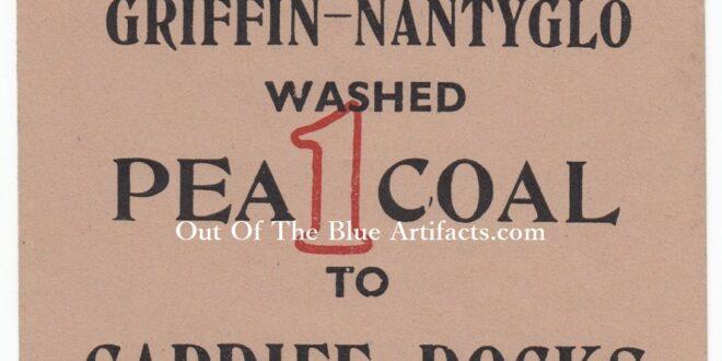 Griffin Colliery Nantyglo – Coal Wagon Ticket to Cardiff Docks