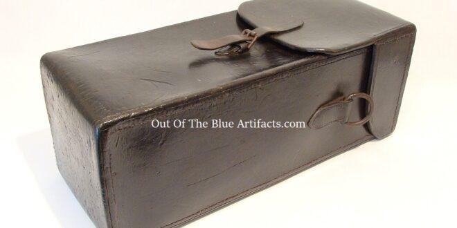Leather Tool Equipment Case