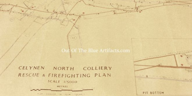 Celynen North Colliery Rescue & Firefighting Plan