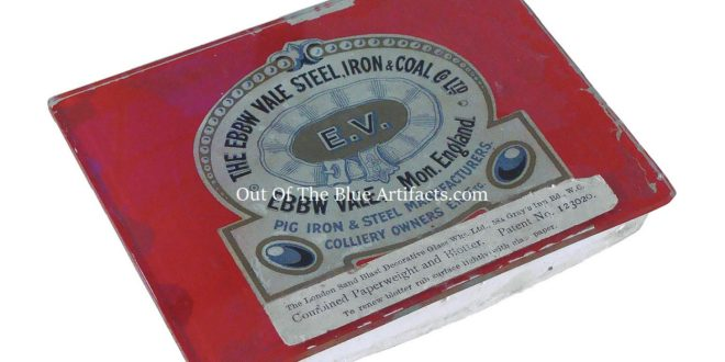 An Ebbw Vale Steel, Iron & Coal Co Ltd Ink Blotter