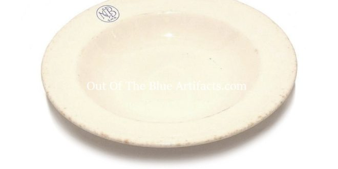 N.C.B. Colliery Canteen China Cereal Bowl
