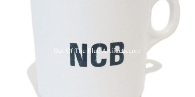 N.C.B. Colliery Canteen Plastic Mug