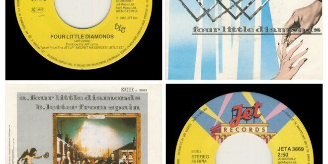 FOUR LITTLE DIAMONDS/LETTER FROM SPAIN…….HOLLAND