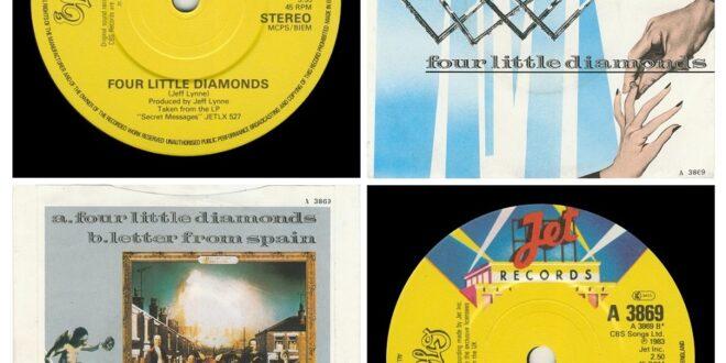 FOUR LITTLE DIAMONDS/LETTER FROM SPAIN…….UNITED KINGDOM