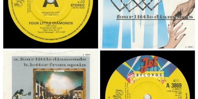 FOUR LITTLE DIAMONDS/LETTER FROM SPAIN…….UNITED KINGDOM  (PROMO) – A1 INTRO