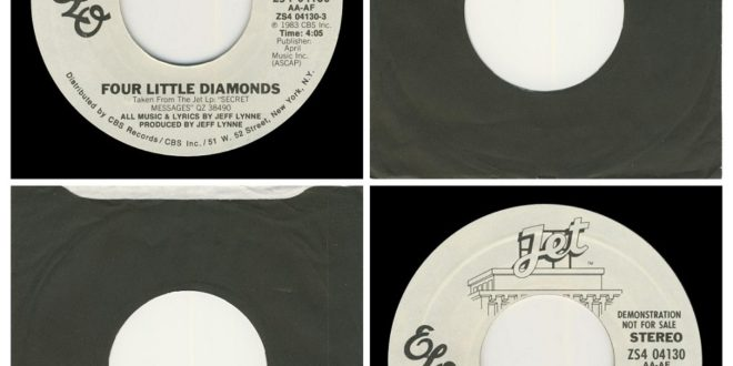 FOUR LITTLE DIAMONDS/DOUBLE SIDED…….USA  (DEMO)