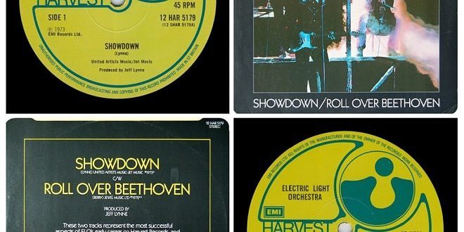 SHOWDOWN/ROLL OVER BEETHOVEN…….UNITED KINGDOM 12″ INCH SINGLE