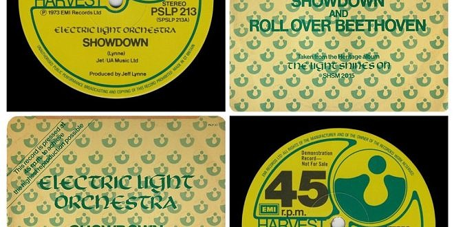 SHOWDOWN/ROLL OVER BEETHOVEN…….UNITED KINGDOM  12″ INCH SINGLE (DEMO)