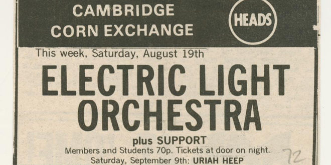 Electric Light Orchestra 1972