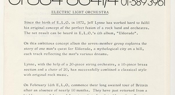 Electric Light Orchestra Bio 1974-75