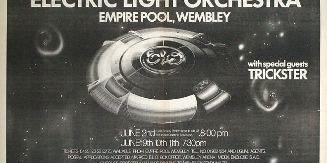 The Electric Light Orchestra – The Empire Pool Wembley, 1978 London UK