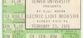 The Electric Light Orchestra – Face The Music Tour 1975-76