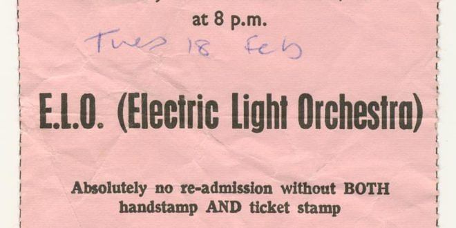 The Electric Light Orchestra – Eldorado Tour 1974-75