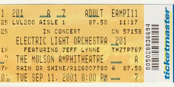 ELO – Zoom Tour 2001