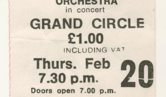 The Electric Light Orchestra – Eldorado Tour 1974-75