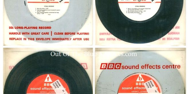 BBC Sound Effects Dept Records Mining Sounds