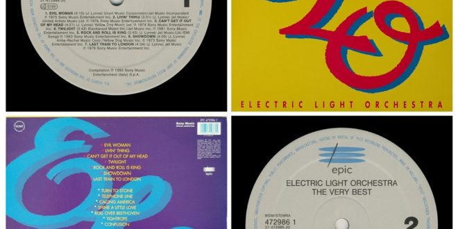 THE VERY BEST OF` THE ELECTRIC LIGHT ORCHESTRA…….HOLLAND