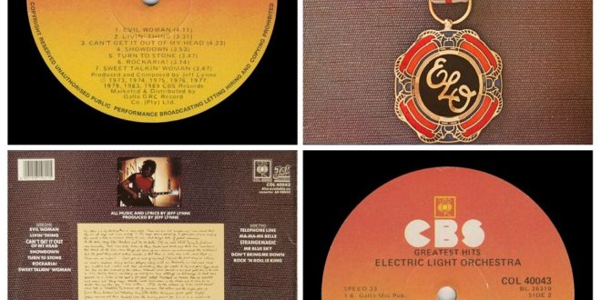 ELO` GREATEST HITS…….SOUTH AFRICA
