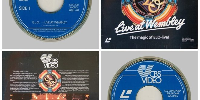 LIVE AT WEMBLEY 1978 WORLD TOUR – LASER DISC…….UNITED KINGDOM