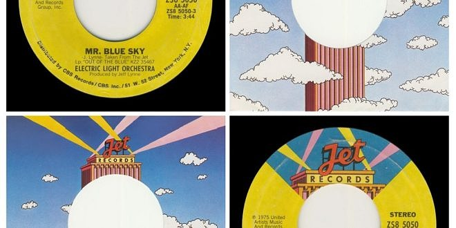 MR BLUE SKY/ONE SUMMER DREAM…….USA 2ND LABEL DESIGN