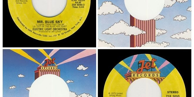 MR BLUE SKY/ONE SUMMER DREAM…….USA – 2ND LABEL DESIGN DATED 1977  (DEMO)