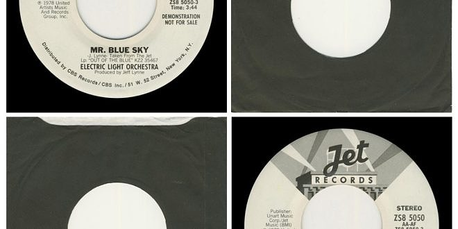 MR BLUE SKY/DOUBLE SIDED…….USA  2ND DESIGN LABEL (DEMO)