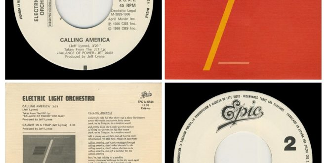 CALLING AMERICA/ONE SIDED…….SPAIN (PROMO)