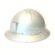An Aluminium USA Miners Helmet