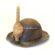 A Vintage Cornish Miners Helmet
