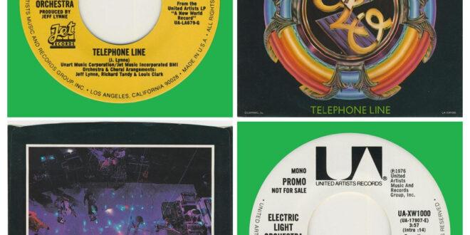 TELEPHONE LINE/DOUBLE SIDED…….USA (PROMO)