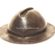 A Leather Miners Hat