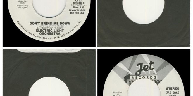 DON'T BRING ME DOWN/DOUBLE SIDED…….USA  (DEMO)