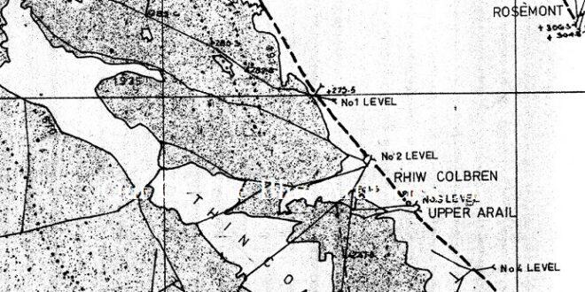 Rhiw Colbren Coal Level