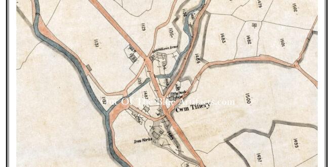 Abertillery Iron Works 1830s