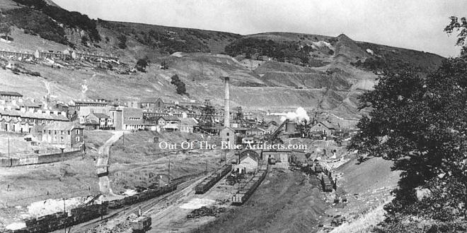 Cwmtillery Colliery Aerial Ropeway – Old and New Tips