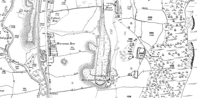 Henwain Colliery Loop Circuit 1880
