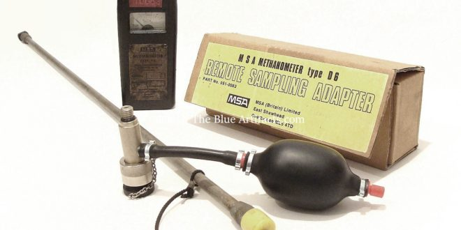 An M.S.A. Remote Sampling Kit & Methanometer