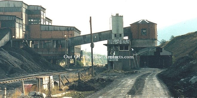 Roseheyworth Colliery Aerial Ropeway Engine House Waste Filling and Cement Hopper